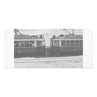 Lisbon trams rack cards