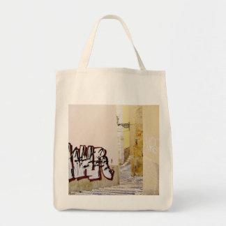 LISBON (URBAN GRAFFITI) Grocery Tote Bag