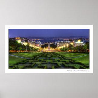 Lisbon view 002 print
