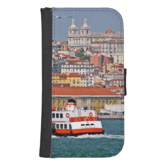 Lisbon view from Tagus river Phone Wallet