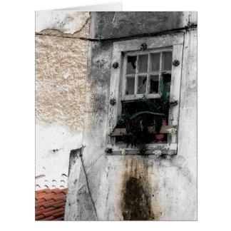 LISBON WINDOW (ALFAMA) Big Greeting Card