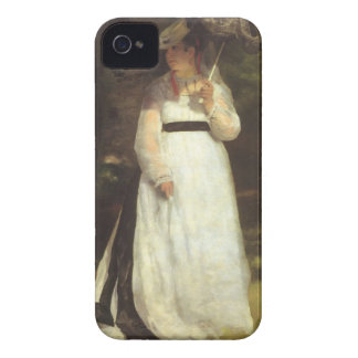 Lise with an Umbrella by Pierre Renoir Case-Mate iPhone 4 Cases