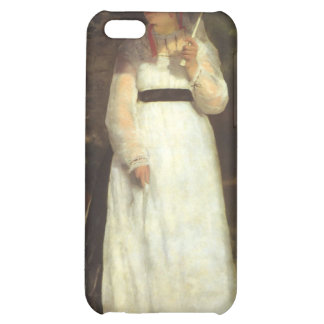 Lise with an Umbrella by Pierre Renoir iPhone 5C Cases