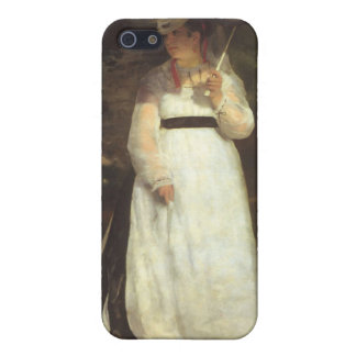 Lise with an Umbrella by Pierre Renoir Cases For iPhone 5