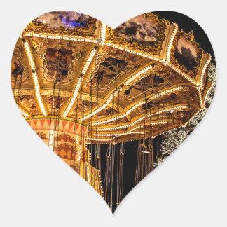 Liseberg theme park heart sticker