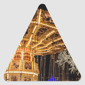 Liseberg theme park triangle sticker