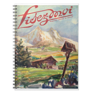 Lisez-moi, aventura alpina note book