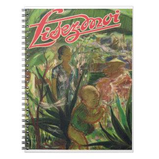 Lisez-moi, aventura oriental spiral notebooks