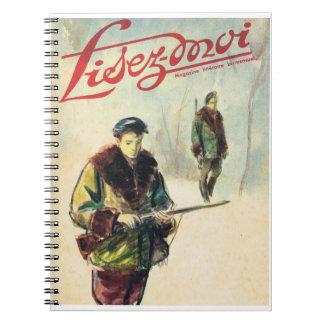 Lisez-moi, cazadores en el bosque notebook