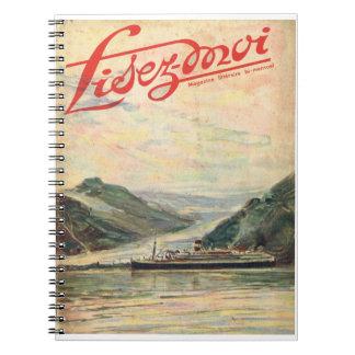 Lisez-moi, cruzando los fijords spiral notebooks