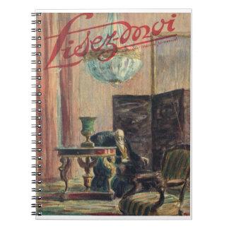 Lisez-moi, sala de estar del siglo XIX Cuaderno