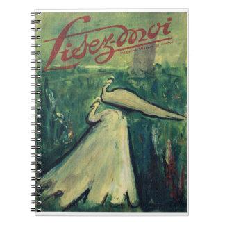 Lisez-moi, White Birds en el agua Cuaderno