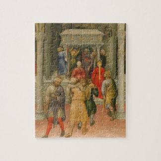 Lisiado y enfermo curado en la tumba de San Nicolá Puzzles Con Fotos