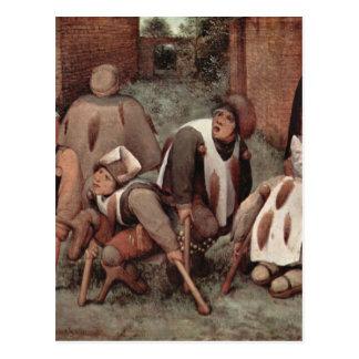 Lisiados de Pieter Bruegel Postal