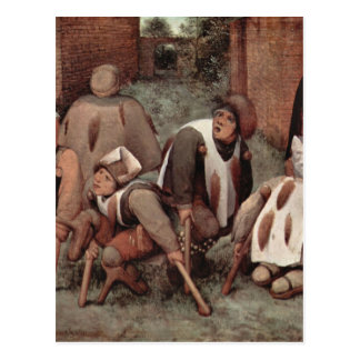 Lisiados de Pieter Bruegel Tarjetas Postales