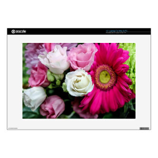 """Lisianthus Decal For 15"""" Laptop"""