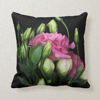 Lisianthus Flower Pillow