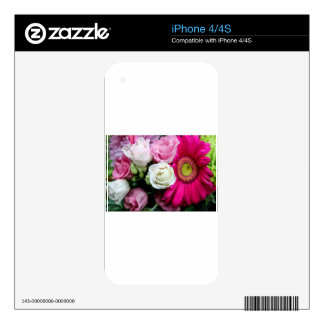 Lisianthus iPhone 4 Decal