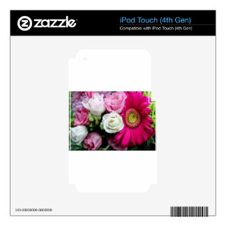 Lisianthus iPod Touch 4G Decal