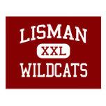 Lisman - gatos monteses - joven - Lisman Alabama Postal