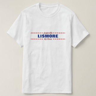 LISMORE - My Home - Australia; Red & Pink Hearts T-Shirt