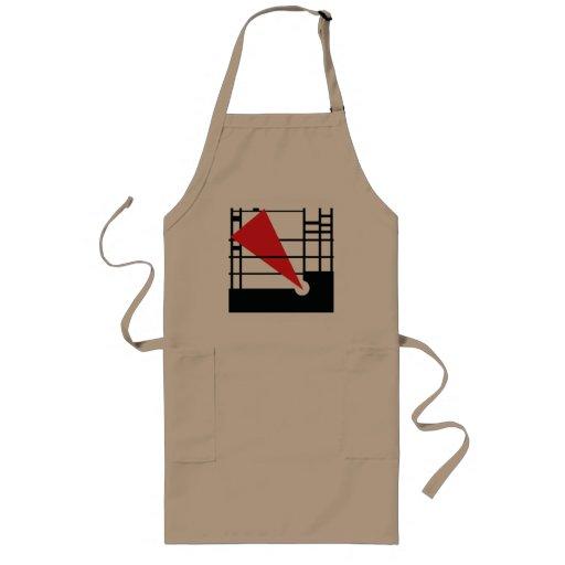 Lissitzky & Mondrain Aprons