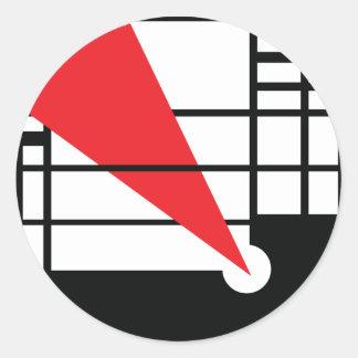Lissitzky & Mondrain Stickers