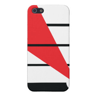 Lissitzky y Mondrain iPhone 5 Carcasa