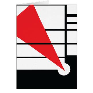 Lissitzky y Mondrain Tarjeta De Felicitación