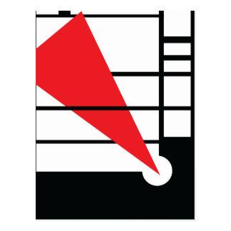 Lissitzky y Mondrain Tarjetas Postales