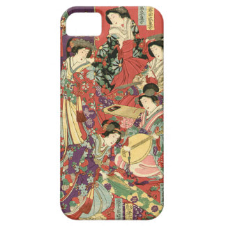List of Noble Ladies by Toyohara Chikanobu iPhone SE/5/5s Case