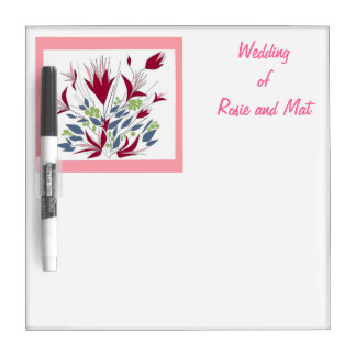 List those Wedding - Things To Do. Dry-Erase Board