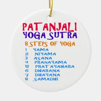 Lista de la compilación de Sutra de la yoga de Adorno Navideño Redondo De Cerámica
