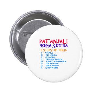 Lista de la compilación de Sutra de la yoga de Pin Redondo De 2 Pulgadas