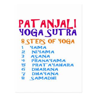 Lista de la compilación de Sutra de la yoga de Postal