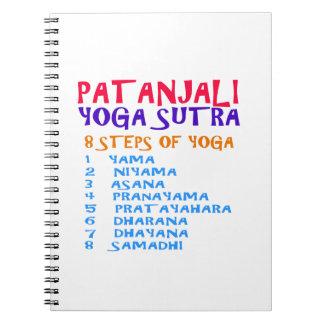 Lista de la compilación de Sutra de la yoga de Spiral Notebook