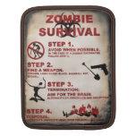 Lista de la supervivencia del zombi funda para iPads