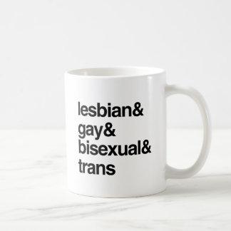 LISTA DE LGBT TAZA CLÁSICA