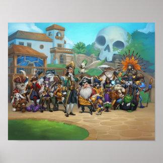 Lista de Pirate101 Skull Island Impresiones