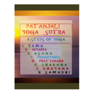 Lista de Sutra de la meditación de la yoga de Postales