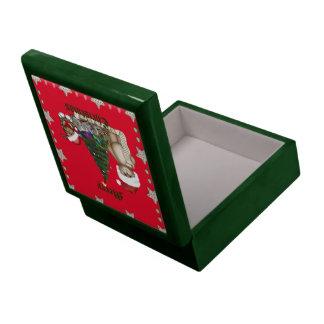 Lista del navidad de los peluches caja de recuerdo