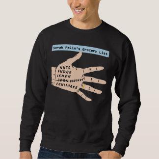 Lista del ultramarinos de Sarah Palins. Camiseta Sudaderas Encapuchadas