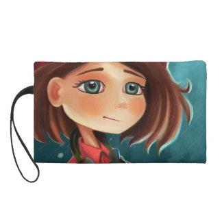 listen a song girl Bagettes Bag Wristlet Purses