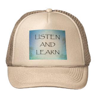 Listen and Learn Trucker Hat