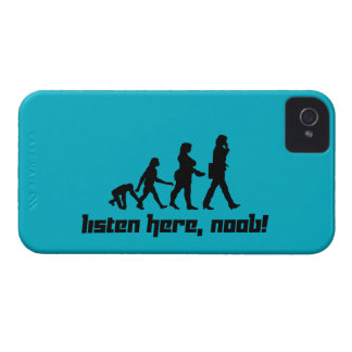 Listen here, noob! iPhone 4 cover