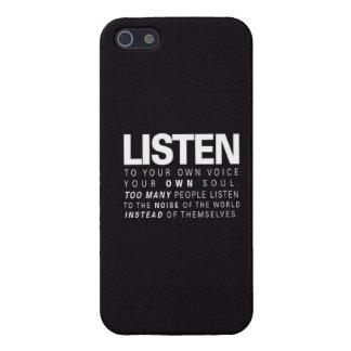 Listen iPhone SE/5/5s Cover