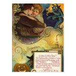 Listen Little One on Halloween Postcards
