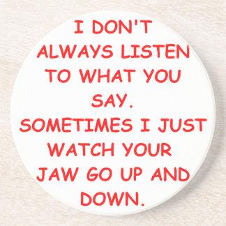 LISTEN.png Posavasos Manualidades