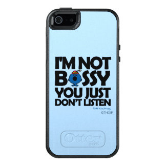 Listen To Little Miss Bossy OtterBox iPhone 5/5s/SE Case