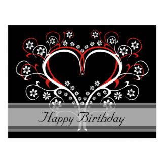 Listen to My Heart Happy Birthday Postcards